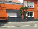Portails Nantes : Réalisation rue Guiotton à NANTES