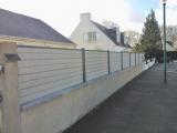 Clotures Nantes : R�alisation all�e de Coudraie la Chapelle sur Erdre