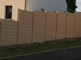 Clotures Nantes : Cloture b�ton imitation bois