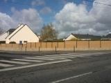 Clotures Composite Nantes : 18 . Réalisation rue du Château d'eau à la Chapelle sur Erdre